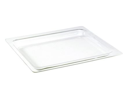 Glass baking and serving dish, 445 x 365 mm - special size