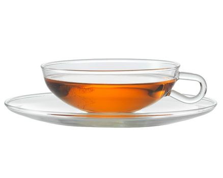 Teacup WAGENFELD 0.15l with saucer  (2 pieces)