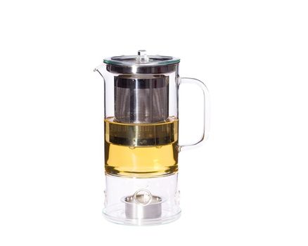 Teapot SIGN 0.6l with integrated tea warmer