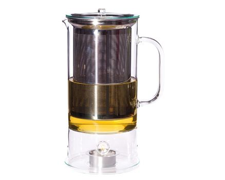 Teapot SIGN 1.2l with integrated tea warmer