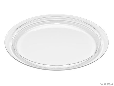 Glass baking and serving dish, Ø 380 mm - round