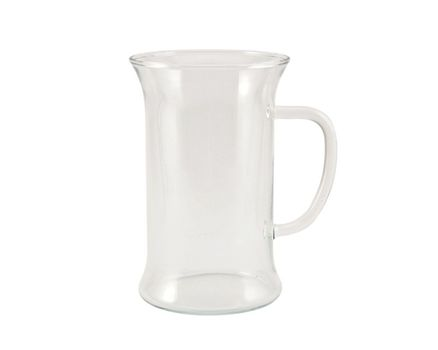Tea glass  0.25l with handle - uni (6 pieces) 002