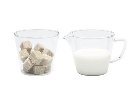 Zuckerschale & Sahnegießer NOVA