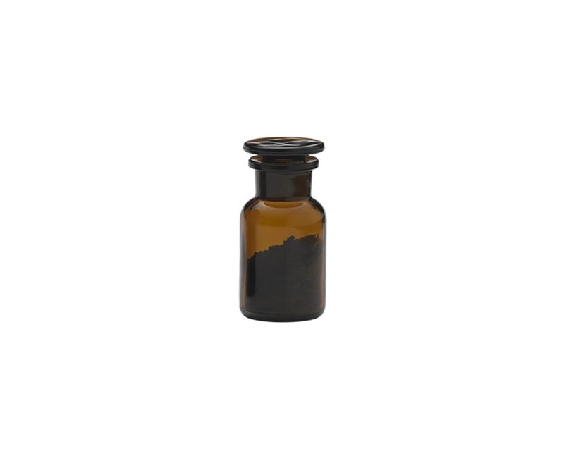 2 Stück Apothekerflasche 100ml - braun