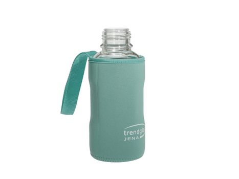 Carrying protection sleeve for drinking bottle 500 - blue