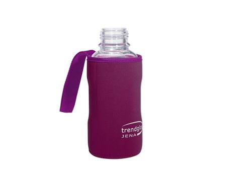 Carrying protection sleeve for drinking bottle 500 - purple