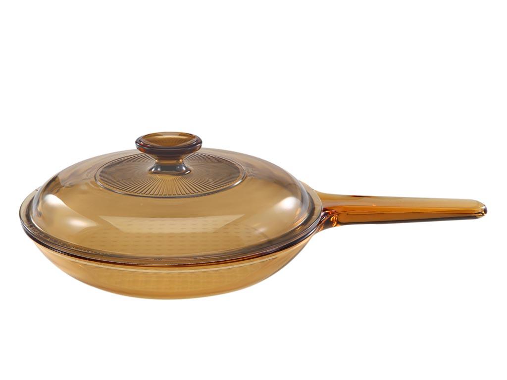 Pfanne mit Stielgriff - Ø 25cm, inkl. Deckel
