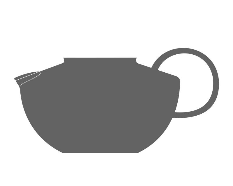 Glaskörper für Teekanne KANDO 1.2l