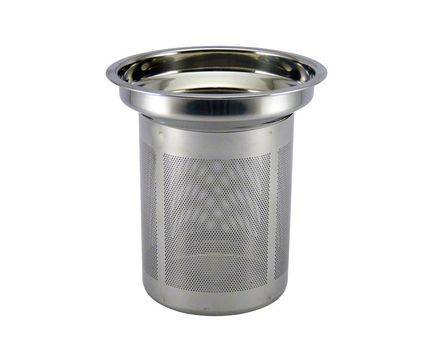 Stainless steel strainer, large 1