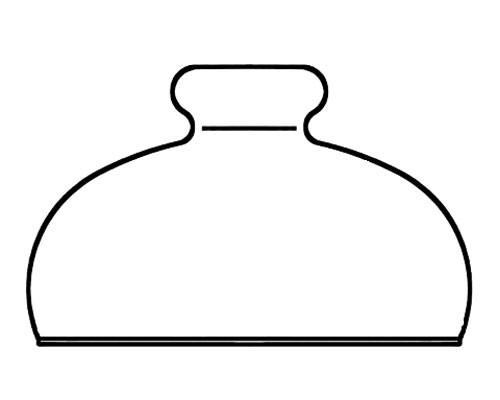 Käseglocke (Glasteil)