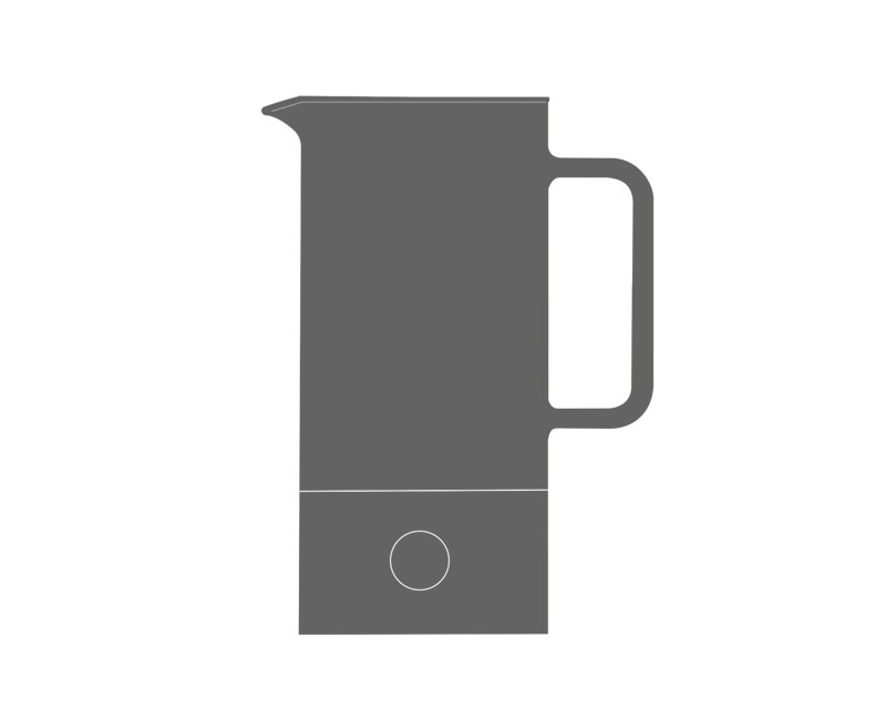 Glass body for Teapot SIGN 0.6l