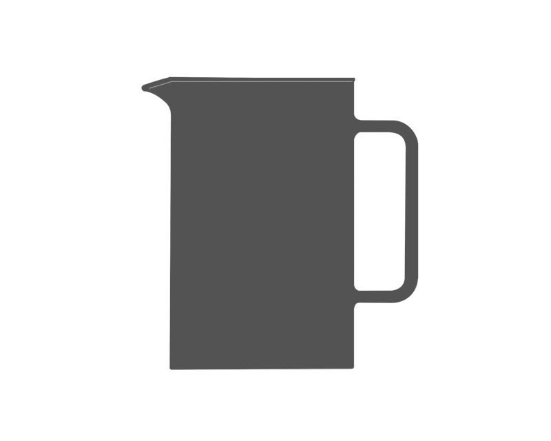 Glaskörper für Teekanne PISA 1.2l