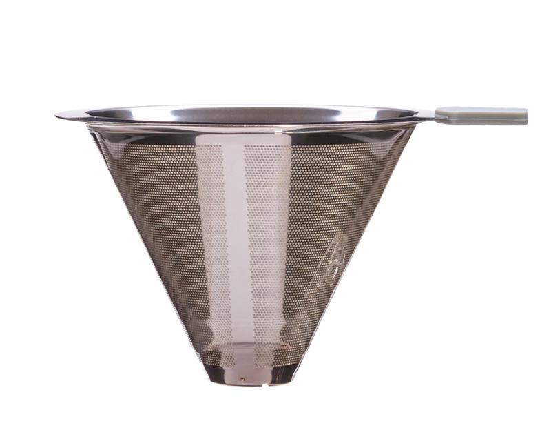Edelstahl-Permanentfilter für Kaffeebereiter BRASIL