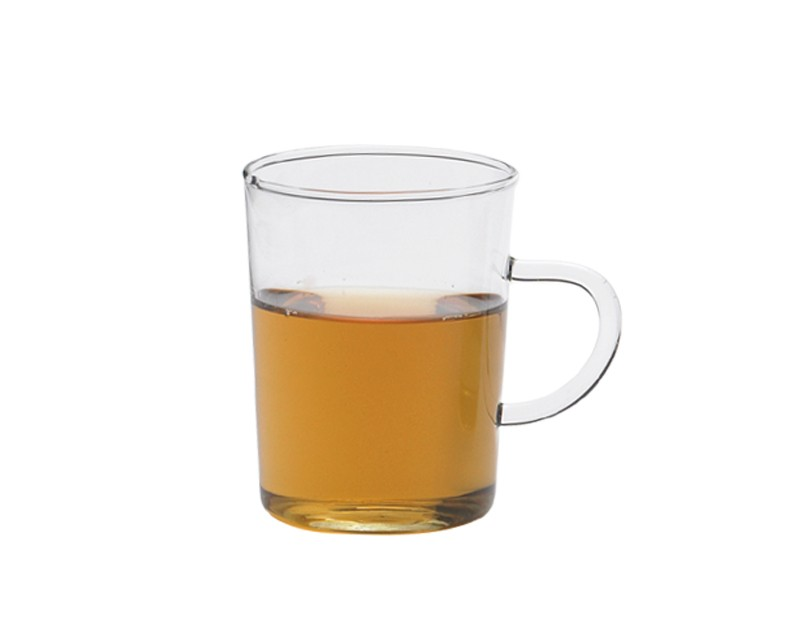Tea glass 0.2l with handle - conical (6 pieces)