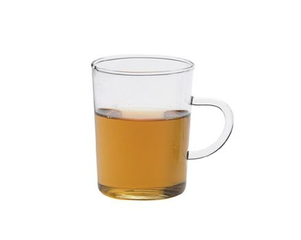 Tea glass 0.2l with handle - conical (6 pieces) 001