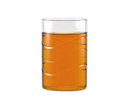 "Tea glass ""WAVE"" 0.25l without handle - cylindrical  (6 pieces) 001"