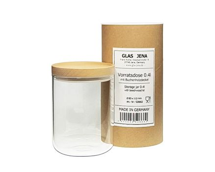 Small storage jar 0.4l - beech