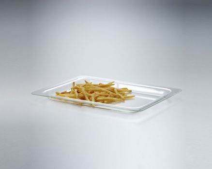 Glass baking and serving dish, 350 x 275 mm - small 002